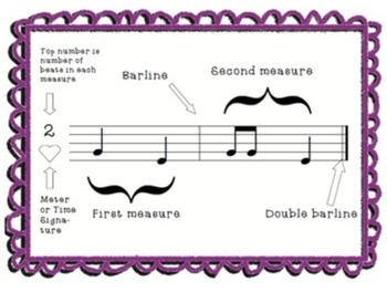 New Student Music Packet {Second Grade}