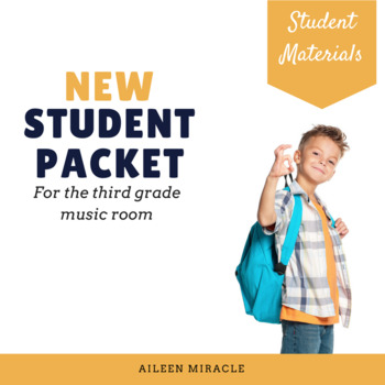 New Student Music Packet {Third Grade}