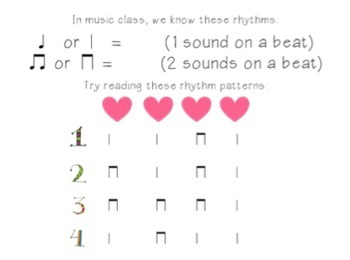 New Student Music Packet {First Grade}