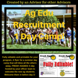 New Student Recruitment Day Flyer
