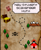 New Student Scavenger Hunt (editable)