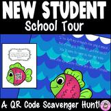 New Student School Tour QR Code Scavenger Hunt