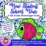 New Student School Tour QR Code Scavenger Hunt