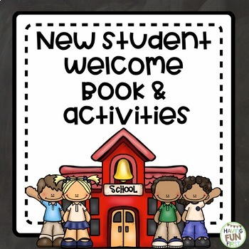 New Student Welcome Book and Activities