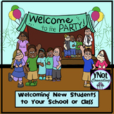 New Students: Welcome to the Party!