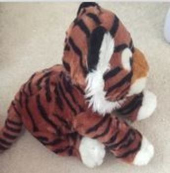 New Stuffed Tiger-Perfect for a reading buddy or mascot