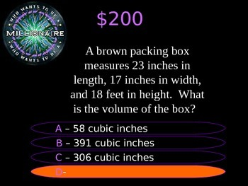 5th Grade Who Wants to Be A.. STAAR Review Quiz Game Show #3 2016-17