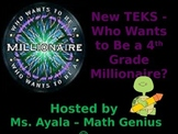 New TEKS - 4th Grade Who Wants to Be A Millionaire STAAR Review Quiz Game Show