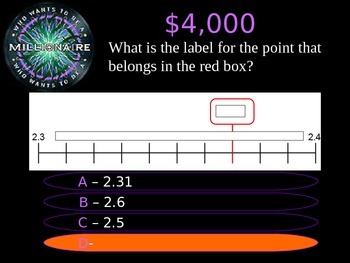 4th Grade Who Wants to Be A Millionaire STAAR Review Quiz Game Show 2016-17