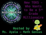 5th Grade Who Wants to Be A Millionaire STAAR Review Quiz Game Show 2016-17