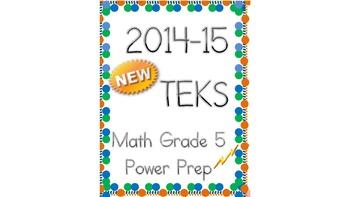 New TEKS for Grade 5:  Power Prep