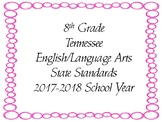 New Tennessee ELA Standards for 8th Grade