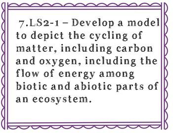 New TN Science Standards (7th Grade)