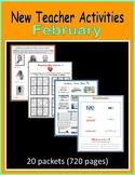 New Teacher Activities - February (First Year Teacher)