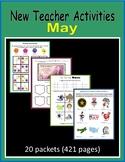 New Teacher Activities - May (First Year Teacher)