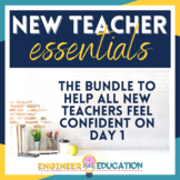 New Teacher Essentials GROWING BUNDLE: Perfect for First Y