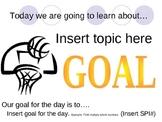 New Teacher Evaluation Lesson Template PowerPoint / Flipchart