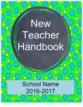 New Teacher Handbook
