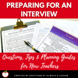 New Teacher Interview Questions, Tips & Planning Guide