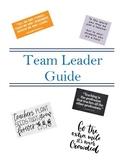 New Teacher Organization File (Team Leader Position)