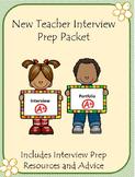 New Teacher Interview Prep Packet