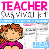 Teacher Survival Kit {Planning, Reflecting, and Managing Y