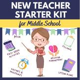 New Teacher Starter Kit - Middle School