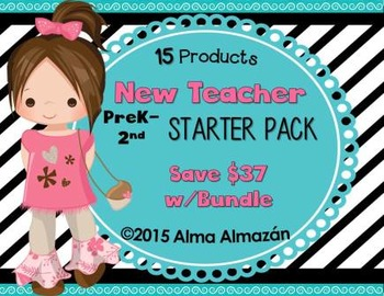 New Teacher Starter Pack Bundle 15 Products