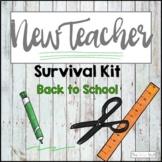 New Teacher Survival Kit: Back to School Bundle