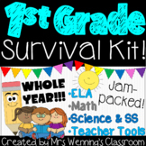 First Grade Teacher Survival Kit! WHOLE YEAR!!!