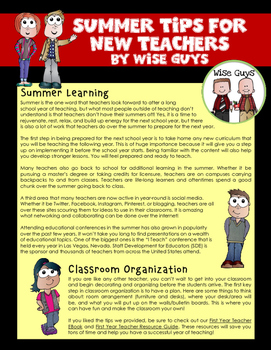 New Teacher Tips and Ideas: A Monthly Collection