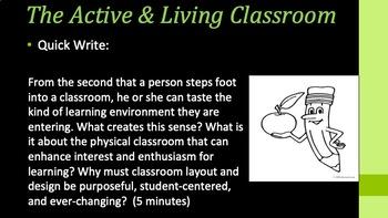 Professional Development Training for New Teachers - Classroom Practice