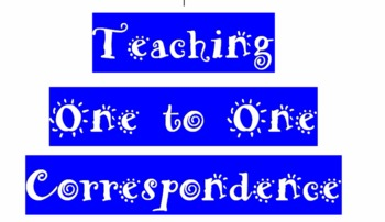*New* Teaching 1:1 Correspondence for Early Literacy (Book 2)