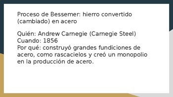 New Technology of Industrial Revolution in Spanish