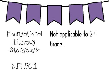 New Tennessee ELA Standards for 2nd Grade