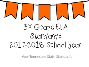 New Tennessee ELA Standards for 3rd Grade