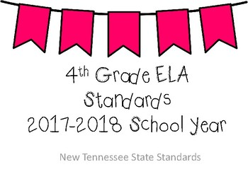 New Tennessee ELA Standards for 4th Grade
