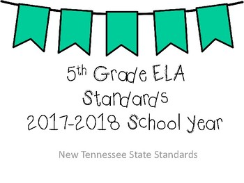 New Tennessee ELA Standards for 5th Grade