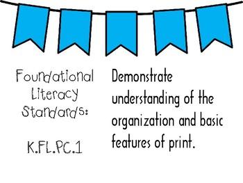 New Tennessee ELA Standards for Kindergarten
