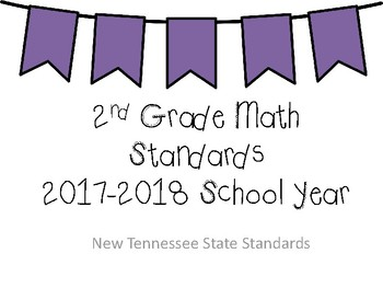 New Tennessee Math Standards for 2nd Grade
