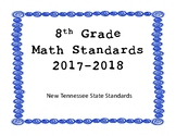New Tennessee Math Standards for 8th Grade