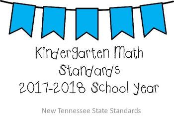 New Tennessee Math Standards for Kindergarten