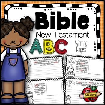 New Testament Alphabet Notebooking Pages