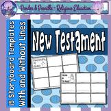 New Testament Bible / Jesus Storyboard Templates