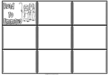 New Testament Bible / Jesus Storyboard Templates