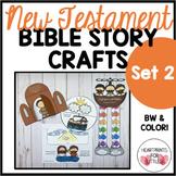 New Testament Bible Story Crafts Set 2