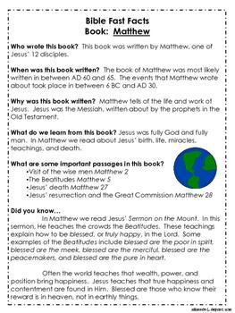 New Testament Bible Verses and Background Info (KJV School License)