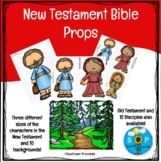 New Testament Characters Bible Story Props