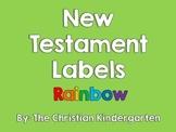 New Testament Labels-Rainbow