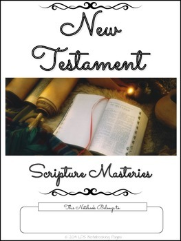 New Testament Scripture Masteries - Cursive